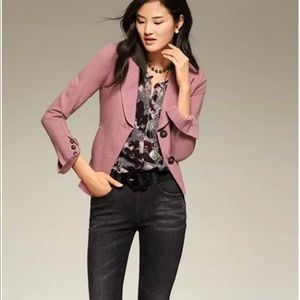 Cabi 3550 aplaud jacket pink fitted blazer 8 med